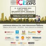 HARI INI ADA TIKET GRATIS JOBFAIR #IndonesiaCareerExpo #Pekanbaru 8-9 Sept. Follow @IndonesiaCareer & RT Twit Ini 1x http://t.co/QfgaPIfXoY