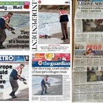 Today's #czech and #britain #england newspapers. Let's compare them! http://t.co/WvjWzExmVR
