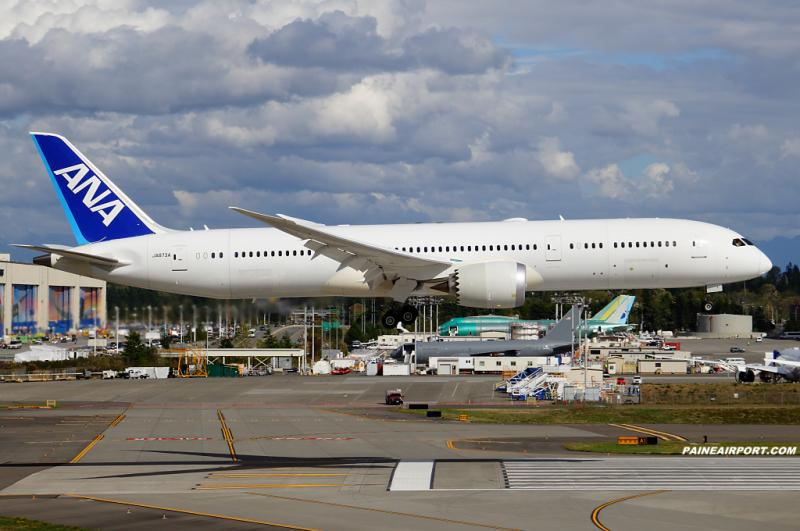JA873A was ferried from Charleston to Everett for the Star Wars livery, parked at the fuel dock now http://t.co/MUaxMSMzqo