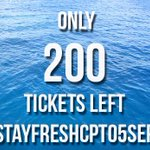 Tickets are available at @SheshaLifestyle Canal Walk and ALL @Computicket outlets #StayFreshCPT05Sept http://t.co/Z8l0R1yb6R