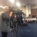 Large media contingent at #Prasa offices in Hatfield. We understand that Molefe will be the only one briefing media. http://t.co/xDAd7f9jlp