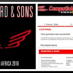 Super EXCITED to see Mumford & Sons LIVE in South Africa! Tickets ✅ #MumfordRSA @HilltopLive http://t.co/FqkAnPZnKU