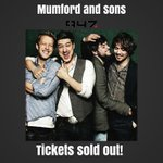 Wow Joburg! @MumfordAndSons tickets are sold out! Stay tuned to 947 and we will make a plan for you to win tickets http://t.co/gV7OVX2DHv
