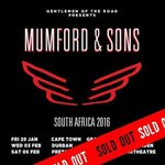 . @MumfordAndSons live in SA SOLD OUT in 1minute 22 seconds! Were speaking to the band about additional dates. http://t.co/TZtgOQjTgq