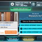 My #internet speeds using #ZukuFibre. Get @ZukuOfficial @Zuku_WeCare @ZukuSports #BoycottDstvKE #Kenya http://t.co/lgxkCkN2XW