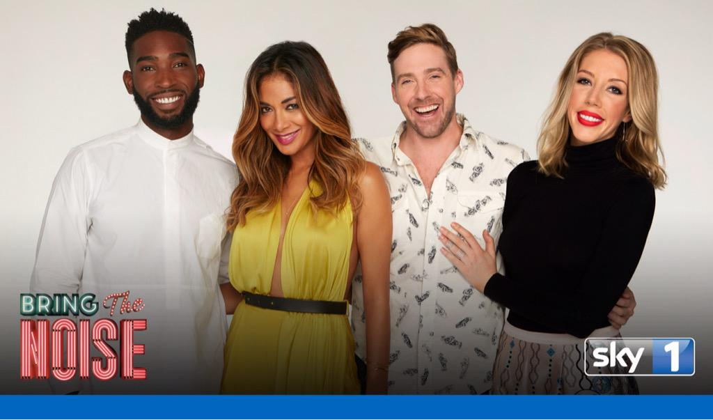 RT @sky1: Are you ready for @NicoleScherzy, @TinieTempah, @Rickontour & @Kathbum to #BringTheNoise?  ???? http://t.co/MKYGKOhszV http://t.co/w…