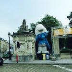 @fadilalaanan fête de la BD: le parc de Bruxelles cest Schtroumpfement bien! http://t.co/84Im275MBT