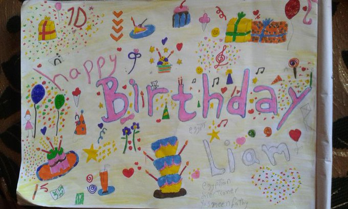 happy birthday sweat heart  I made this for you  Liam\s girls plzz Rt this message