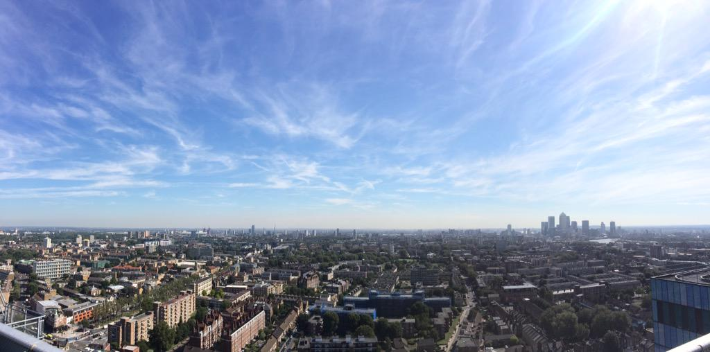 Incredible view @LDNAirAmb helipad. Urge anyone to see the work they do & support them: http://t.co/NCGBLqCc2L http://t.co/fMKqfOBQbJ