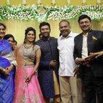 RT @onlynikil: Director @dirvenkatprabhu @ @imKBRshanthnu - @KikiVijay Wedding Reception