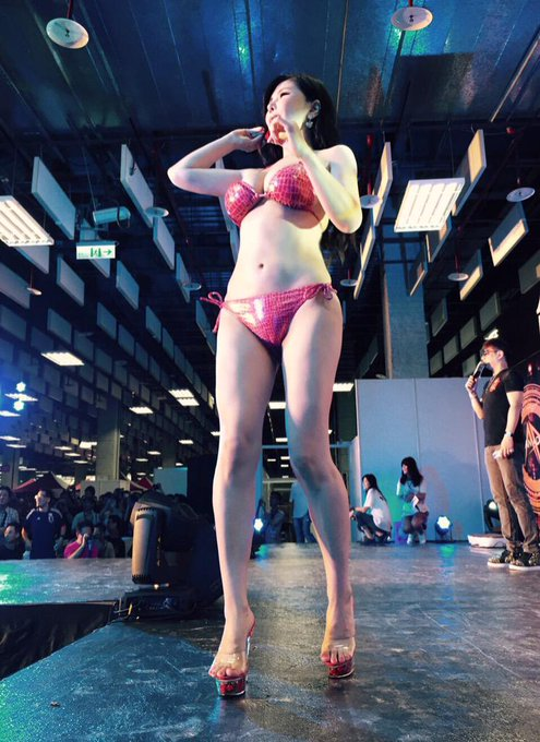 Taiwan Adult Expo 2015 in Taipei was so fantastic!! Thanks so much for all my supporting fans!!  full