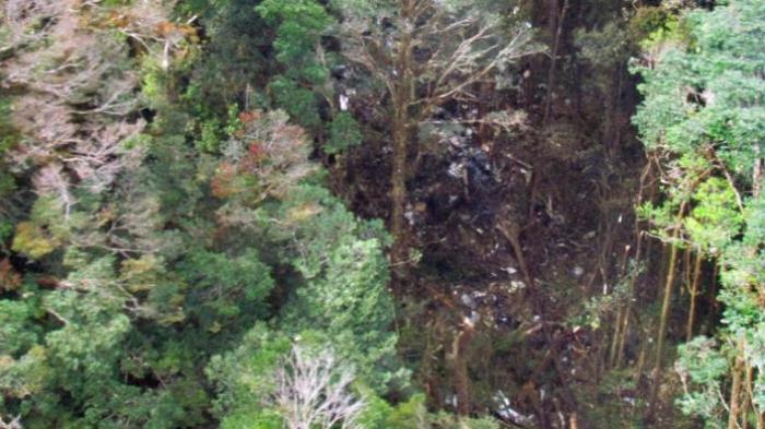 Lokasi Jatuhnya Trigana Air - AnekaNews.net