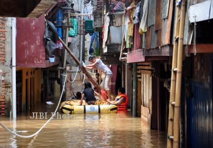 WARGA Kampung Pulo Lebih Nyaman Tinggal Di Tempat Kumuh Dari Pada Di Rusun Tapi Nyewa - AnekaNews.net
