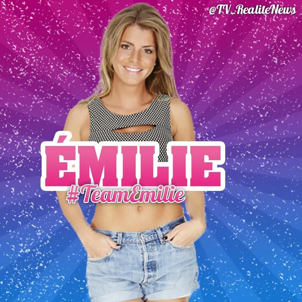 Magnifique! ❤ Merci @TV_RealiteNews pour le montage. #SS9 #TeamEmilie http://t.co/rp5or4CrBC