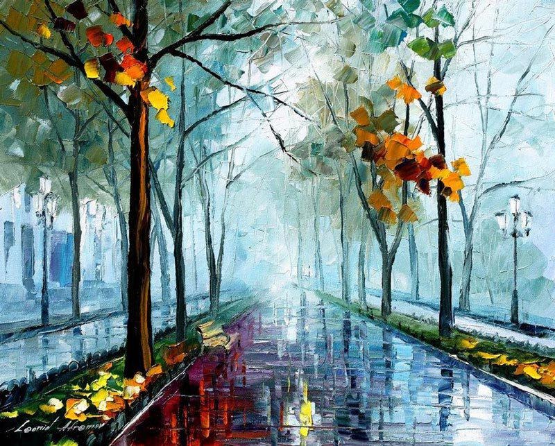 rain falls slowly outside the cafe and nodding I slip slowly away into a London of fog and green grass http://t.co/0GGm6SONMt