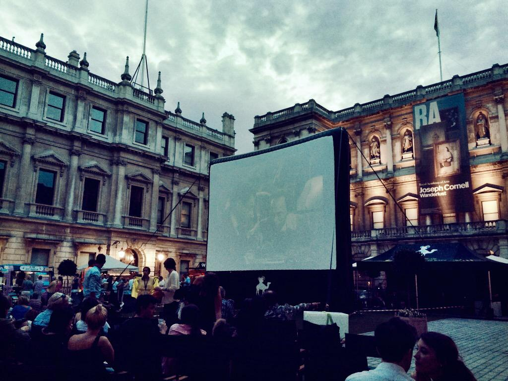 It's almost time for #casablanca @royalacademy #Nomad15 http://t.co/wiIE1hbGUd