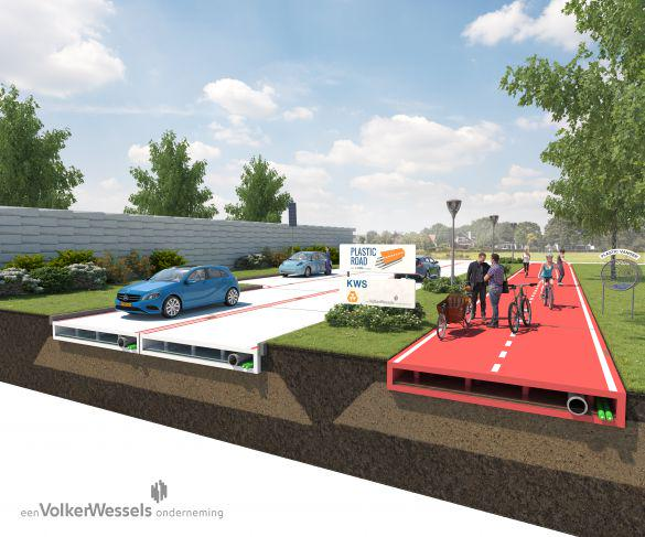 Does this road look familiar? Dutch company considers recycling plastics into pavement http://t.co/NmTPtczoBG http://t.co/9xhVNfvrEc