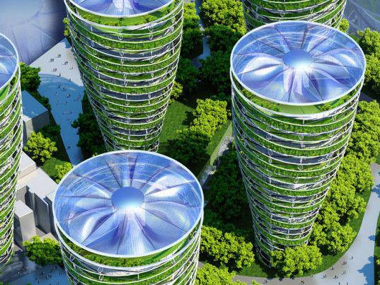 Hoe geven architecten vorm aan #duurzaamheid? Met bv #windmolens in daken @SPARK_Campus @helenevanrijn @Straatbeeld http://t.co/3dHuTFPCB1