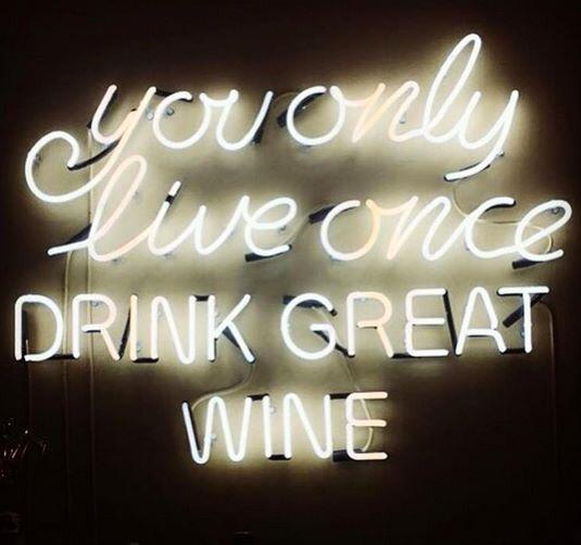 #YOLO Never settle, drink well and prosper! #wine http://t.co/3mPOVpOaik