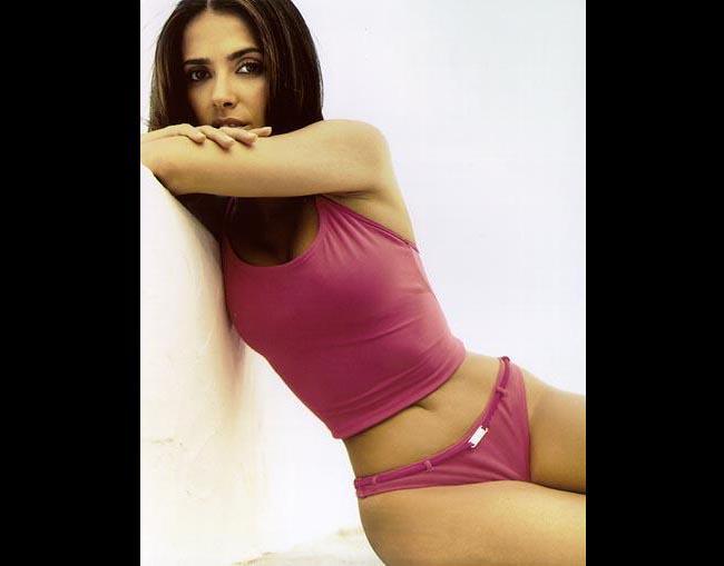 hayek desnuda Salma