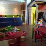 V impressed by the playroom at the @novotelgoa ...our kids loved it Just dropped in & hard to extricate them haaha