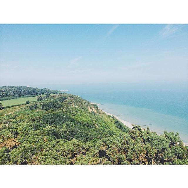 Glorious Cromer from the clifftops #cromer #norfolk #beach #cliffs #summer #englishsummer … http://t.co/mhnNUOzmei http://t.co/00I1spVbUf