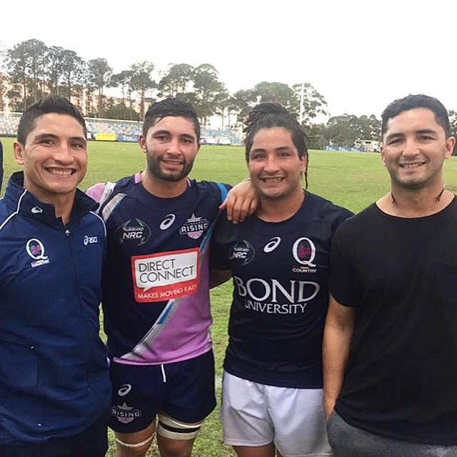 Disappointing result but was awesome 2 play against my younger brother @colbyfaingaa & have all my brothers together! http://t.co/Fq4xU4Q7wp