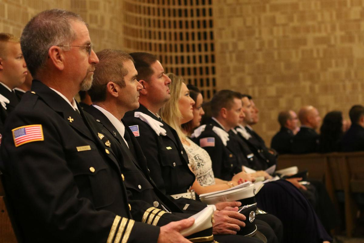 Community honors fallen #Valpo Fire Chief, David Nondorf, at funeral. http://t.co/RTUgqur90h http://t.co/GaXfUmGecS