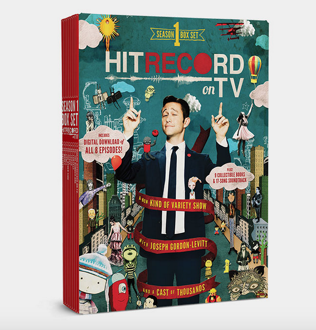 RT @hitRECord  #HITRECORDonTV streams on @netflix but it also comes in this box set w/9 books: http://t.co/N7zVjUYmas http://t.co/5igYDJ2tEn