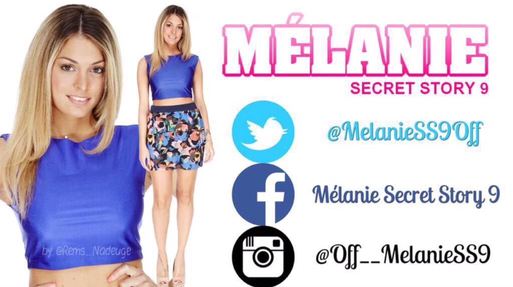 Retrouvez L'actualité de @MelanieSS9Off #SecretStory #SS9 http://t.co/Enb8ZYfBGC