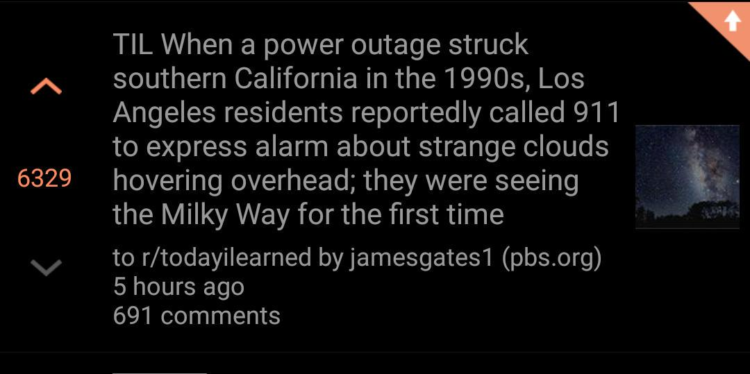 Always nice to see a @PBS link on the top of @reddit. #PubMedia #LightPollution http://t.co/fNXwMpapRJ