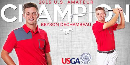 History. Made. Congratulations to our own Bryson #DeChambeau - the 2015 @USGA #USAmateur Champion! #PonyUp http://t.co/b0dIuUXVn1