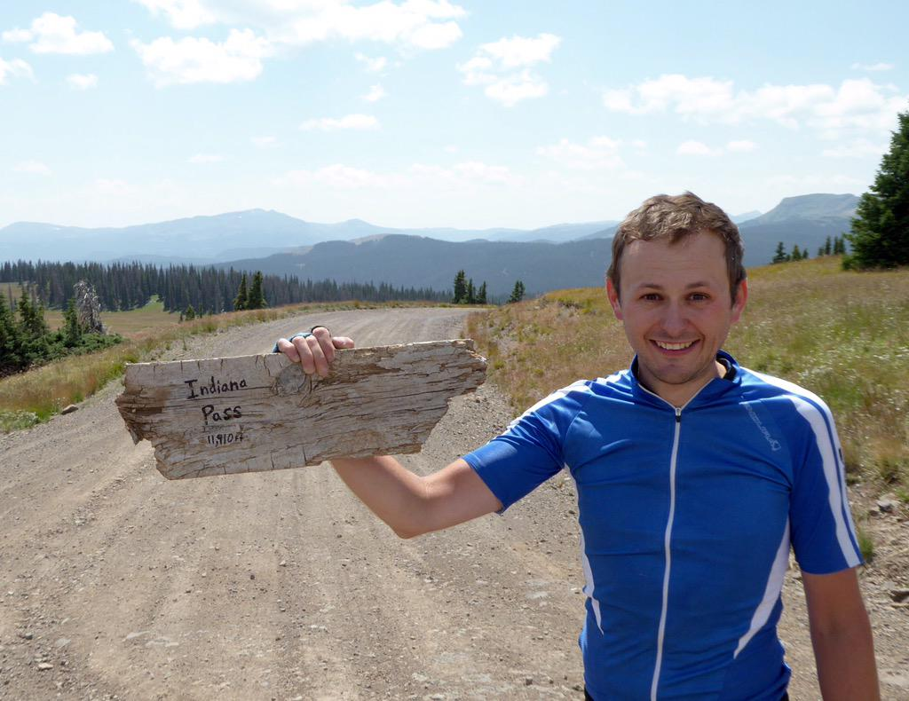 High point of the route! 11,910ft [Indiana Pass, CO] #acaGDMBR #tourdivide #bikepacking #adventurecycling
