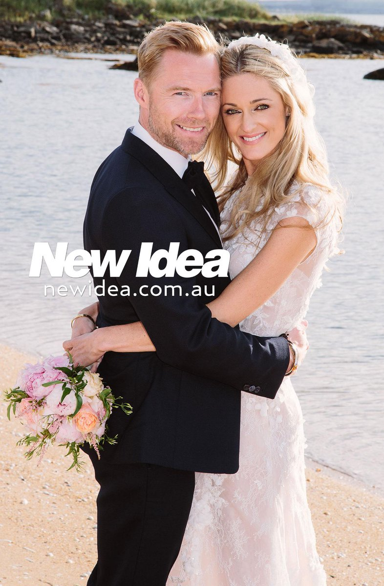 New Idea is the ONLY Aussie mag to have Ronan Keating & Storm's official wedding pics & interview, on sale Aug 31. http://t.co/BJad2NlMAf