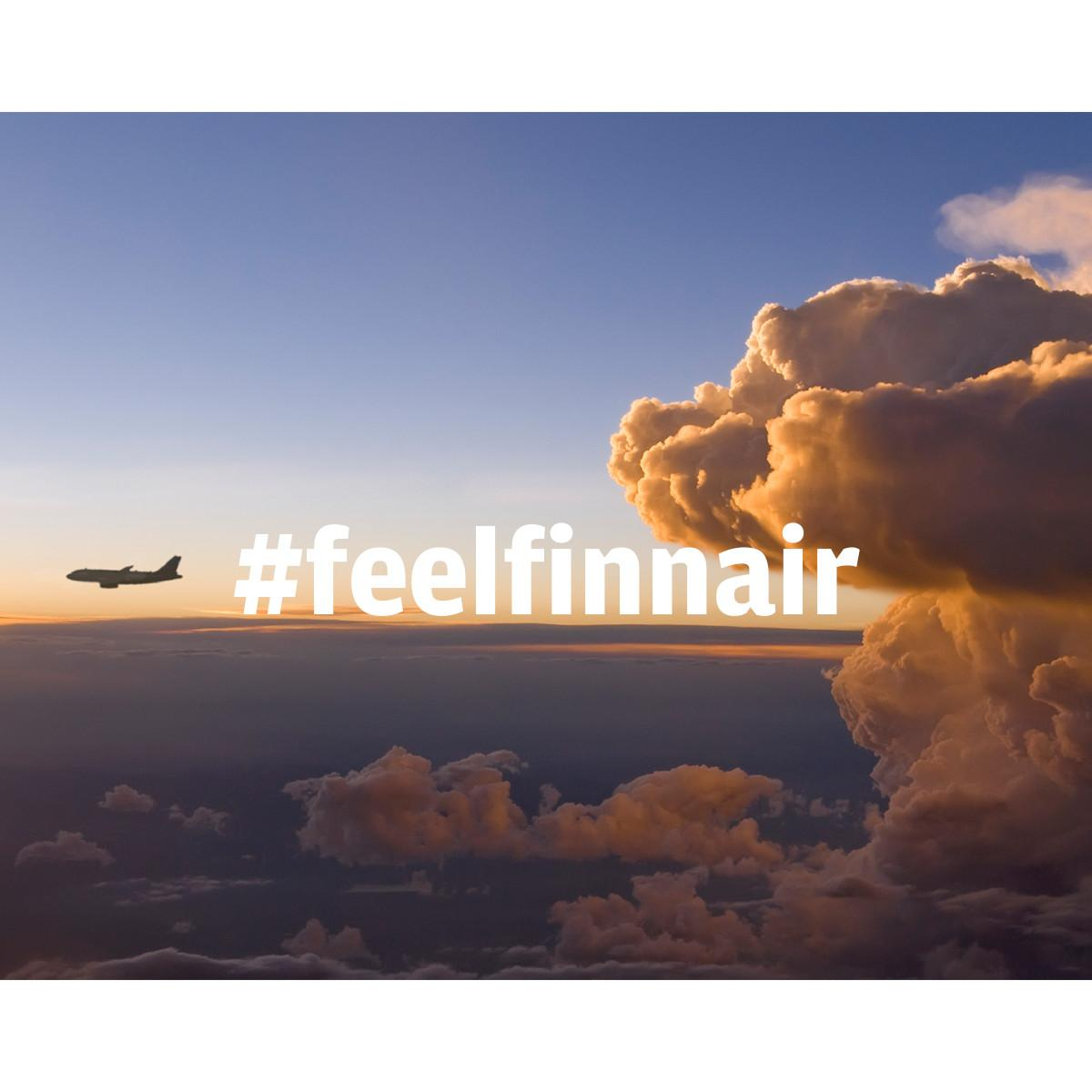 Hashtag your photo feelfinnair on Instagram for a chance to win 5000 Finnair Plus points!