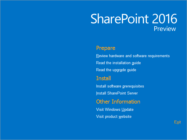 Breaking: #SharePoint Server 2016 IT Preview and cloud hybrid search is here! Download now -> http://t.co/JCPzHQP3K9 http://t.co/GDat7bv5rJ