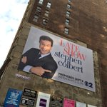 Glad to see that when @StephenAtHome takes over the #LateShow he'll finally be full size.