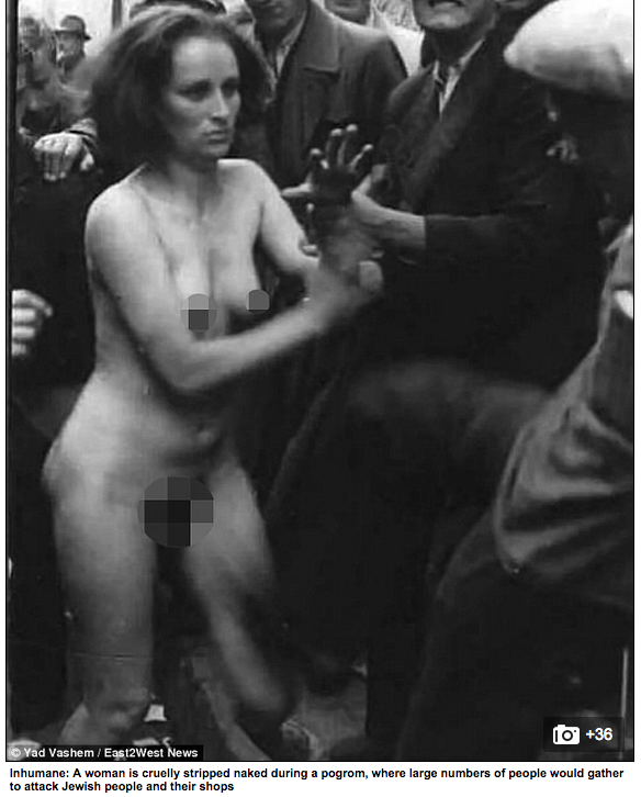 Nazi Pictures Abuse Women