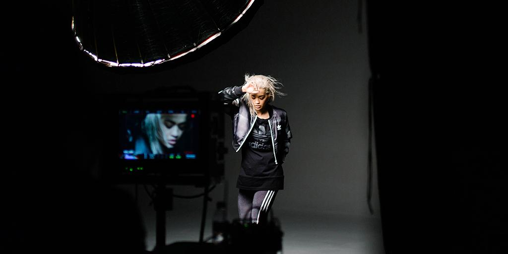 RT @adidasoriginals: On set with @RitaOra in the her new space inspired #adidasOriginals collection. Make it yours from September 1st. http…