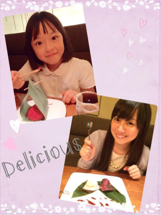 先日、『ばらかもん』で共演した原涼子ちゃんと、会いました♡涼子ちゃんの可愛さとパワフルさに、沢山、元気をもらったよー!こ