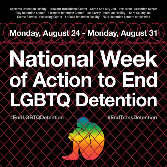Happening this Week: National Week of Action to #EndLGBTQDetention! #EndDetention #Not1More http://t.co/CHKk5Cjkpa