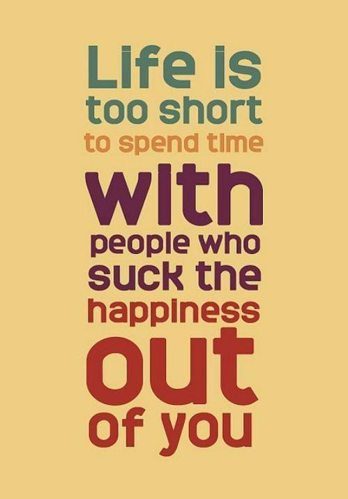 Life is too short. http://t.co/IoyKC9Diom