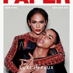 RT @Balmain: LUXE IN FLUX @JLo & @ORousteing are @Papermagazine September issue cover stars