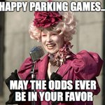 Welcome back #UNT and #TWU students, may the Parking odds ever be in your favor! http://t.co/qQ1xRiGaaW