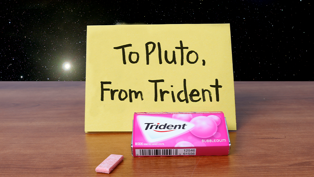 Just because the universe dissed Pluto, doesn't mean we will. #PlutoDemotedDay http://t.co/lXavPRdND9