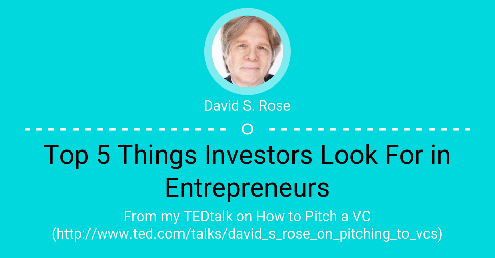 Top 5 Things Investors Look For in Entrepreneurs via @fliverapp https://t.co/aYcgpfZNAO http://t.co/I4GJyRzTOk