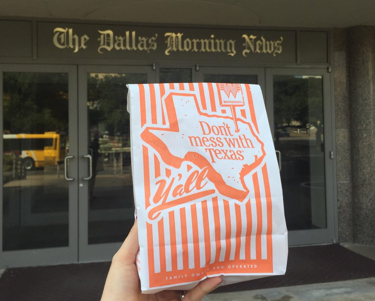 OH MY GOSH: @Whataburger is delivering in Dallas. It's a test via @doordash. I got one. http://t.co/NMXuof2VhL http://t.co/j6mYeSkHe2