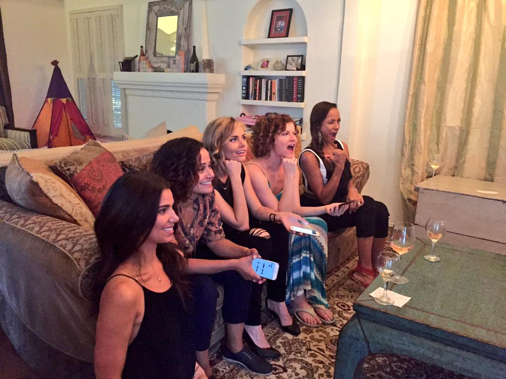 This is what does your #DeviousFinaleParty look like? Tweet us a pic! Watching LIVE! #DeviousMaids http://t.co/evS0gXclCd
