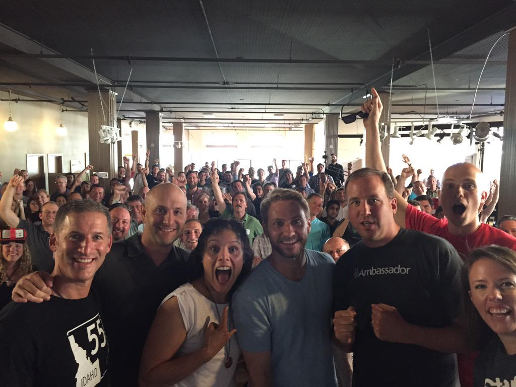 Thanks #startupgrind #sgboise! With love, @techstars @marksolon @arinewman @davidcohen @seats http://t.co/8vlfjRT05B