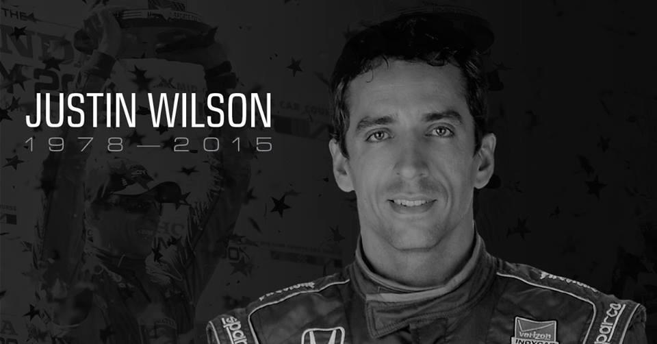 We extend our sympathies and thoughts to Wilson family. Rest in peace to Justin Wilson, a great man on and off track. http://t.co/aMlgLyTTRO